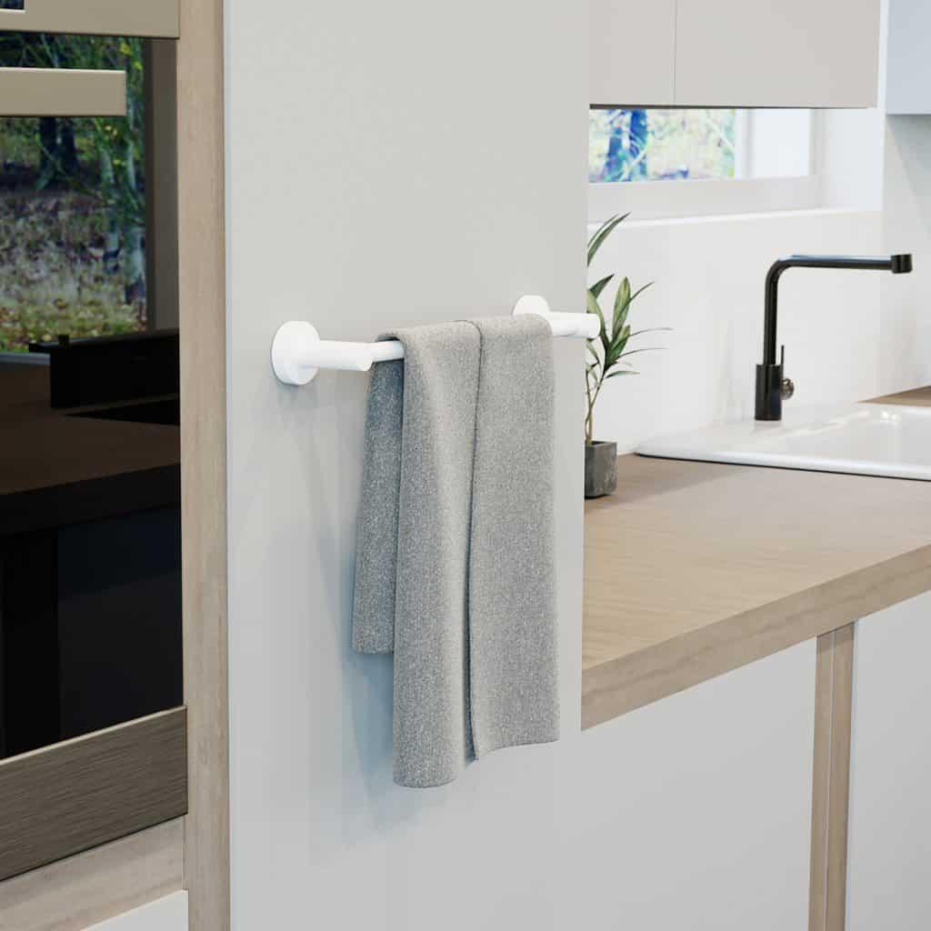 Kitchen towel rail 2r